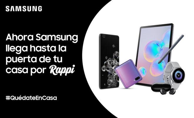 Samsung ahora disponible a través de Rappi - samsung-rappi
