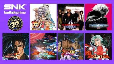 Twitch Prime ofrecerá GRATIS más de 20 juegos de SNK por tiempo limitado