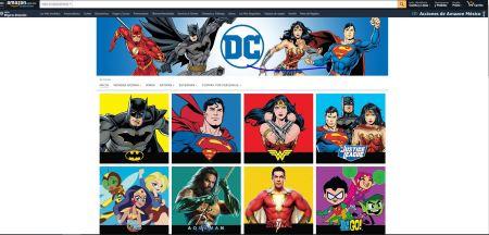 Los superhéroes de DC Comics ¡ya disponibles en Amazon México!