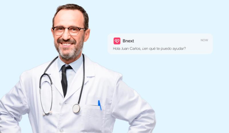 Chat de consultas médicas, nuevo servicio de la app Bnext para cuidar la salud sin salir de casa - app-bnext-chat-salud-800x466