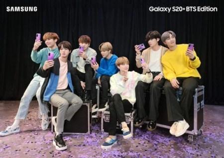 Samsung presenta las ediciones BTS de Galaxy S20+ y Galaxy Buds+