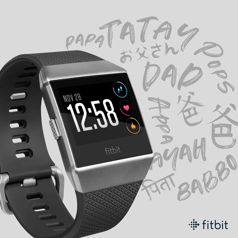 Fitbit te brinda las mejores opciones para regalar en este día del Padre - fitbit-ionic