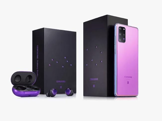 Preventa en México para comprar la edición BTS de Samsung Galaxy S20+ y Buds+ - galaxy-s20-bts-edition