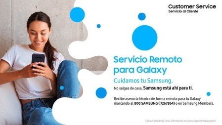 Samsung ofrece servicios especiales creados para atención a clientes