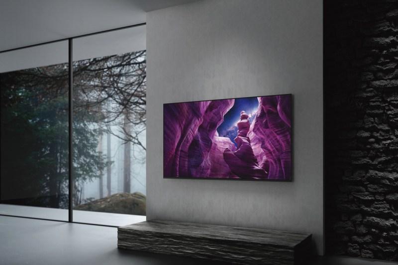Sony presenta nueva línea de pantallas 8K LED, 4K OLED, y 4K LED - sony_oled_a8h_6-800x533