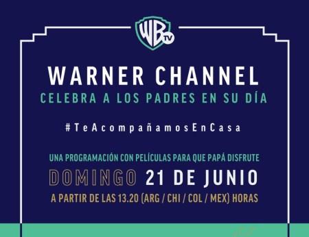 Warner Channel celebra el Día del Padre con programación especial