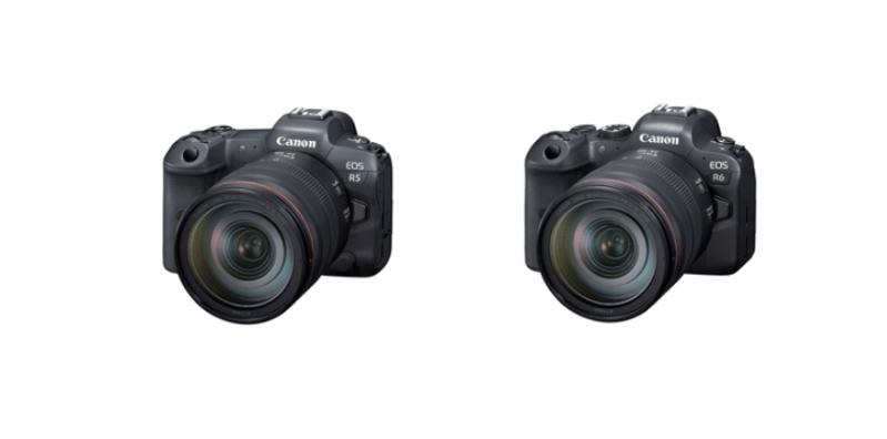 Canon EOS R5 y EOS R6, cámaras sin espejo de cuadro completo más avanzadas de la compañía