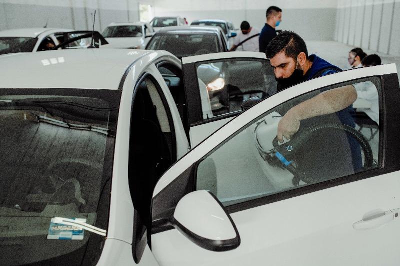Centro de Sanitización para socios conductores de Uber en la Cuidad de México - centro-de-sanitizacion-uber-800x533