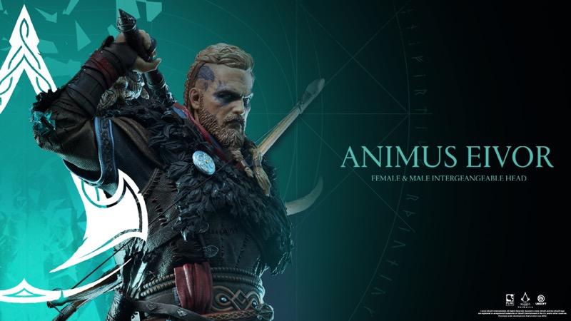 Estatua de Eivor, protagonista de Assassin's Creed Valhalla - estatua-de-eivor_ubisoft