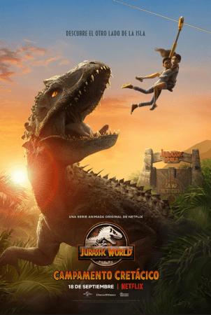 Jurassic World Campamento Cretácico ya con fecha de estreno por Netflix