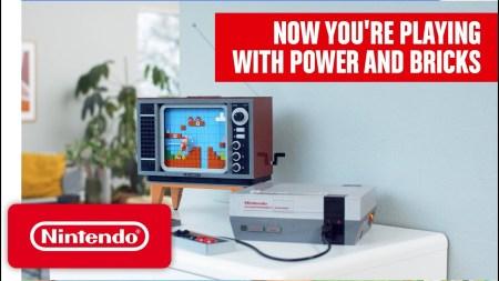 El Grupo LEGO presenta la edición LEGO del clásico Nintendo Entertainment System