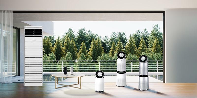 LG presenta nueva línea de purificadores de aire PuriCare 2020 - puricare_line-up-800x400