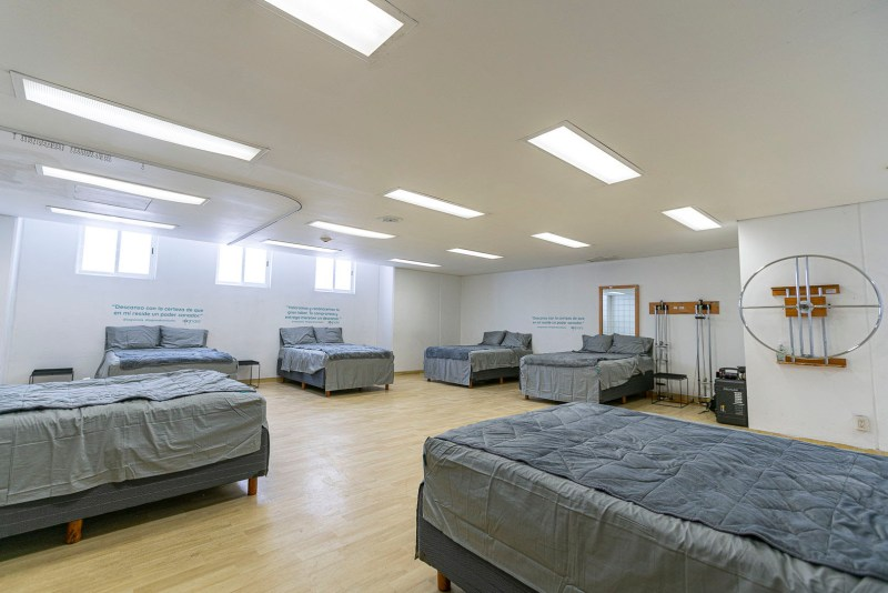 Sognare habilita salas de reposo en hospitales como apoyo al personal médico - sognare