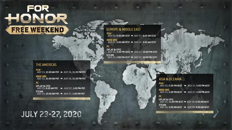 Fin de semana gratuito de For Honor - ubisoft-for-honor-fin-de-semana-gratuito