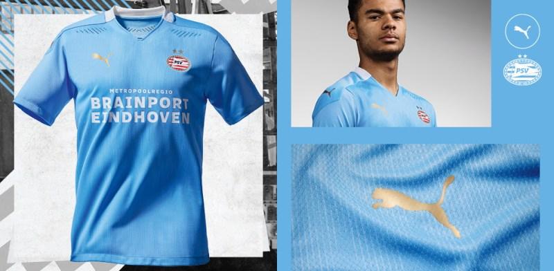 Lanzamiento oficial: Uniforme de Visita PUMA del PSV 2020-21 - uniforme-de-visita-puma-philips-sports-vereniging-800x392