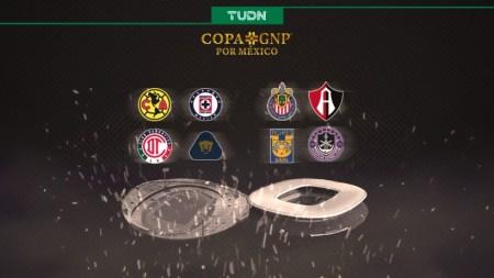 La Copa GNP por México se vive en TUDN