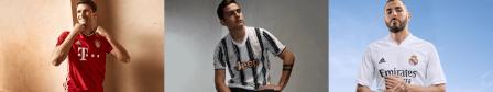 adidas presenta uniformes de clubes internacional para la temporada 2020/21