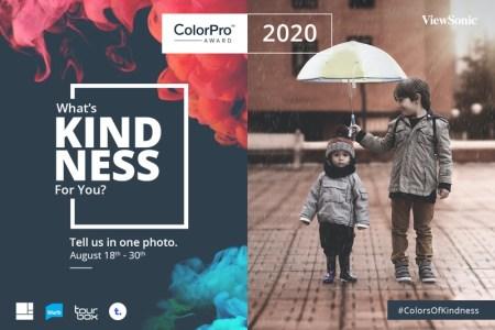 Concurso global de fotografía ColorPro Award, con el tema «Bondad»