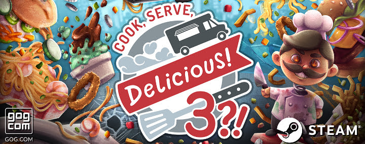 Cook, Serve, Delicious! 3?! se lanzará en octubre para PC, PS4, Switch y XBOX One - cook-serve-delicious-3