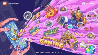 Huawei anuncia nuevo centro de juegos para sus dispositivos: Huawei GameCenter
