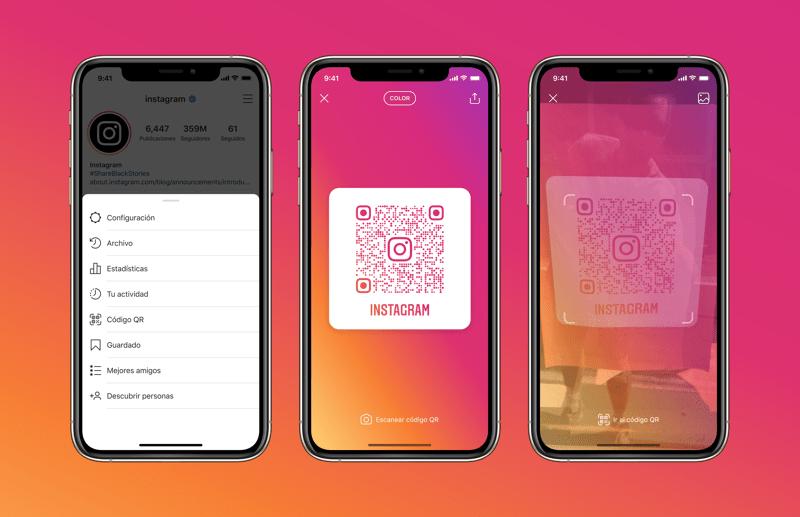 Instagram anuncia el soporte para códigos QR - instagram-soporte-para-codigos-qr-800x517