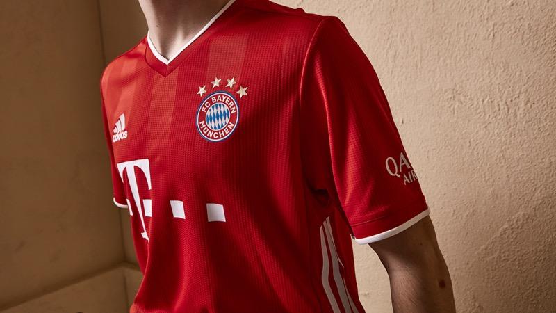 adidas presenta uniformes de clubes internacional para la temporada 2020/21 - jersey_bayern_munich_562140-800x450