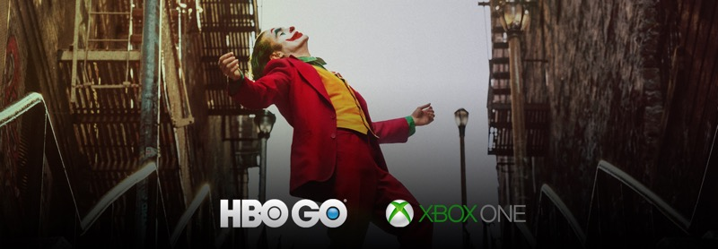 HBO GO disponible en XBOX One en América Latina - joker_ka_1440x500-800x278