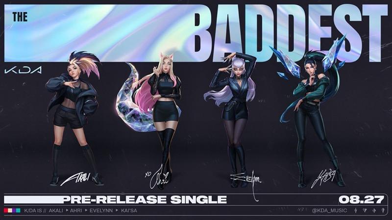K/DA, el aclamado grupo virtual de pop de League of Legends, regresa con nueva canción - kdal-800x450
