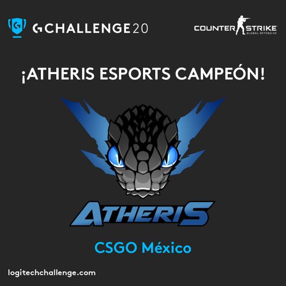 Logitech G Challenge 2020: Atheris Esports se llevó el título de campeón en CS:GO - logitech-g-challenge-2020