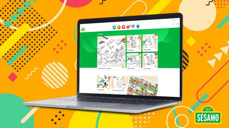 Sésamo con recursos digitales para acompañar el aprendizaje a distancia - recursos_sesamo_1-800x450