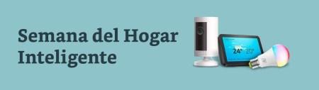 Semana del hogar inteligente con Amazon México del 3 al 7 de agosto