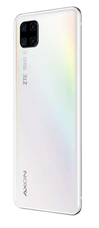 ZTE AXON 11 llega a México ¡conoce sus características y precio! - zte-axon-11-blanco-persp