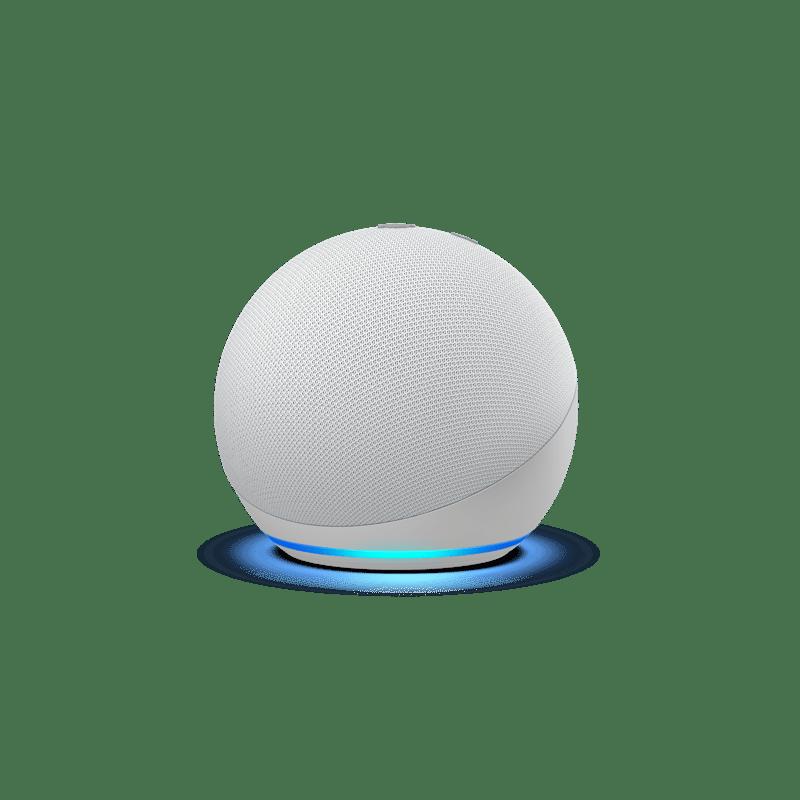 Nuevos Echo, Echo Dot y Echo show 10: diseños renovados y calidad de audio mejorada - echodotblanco