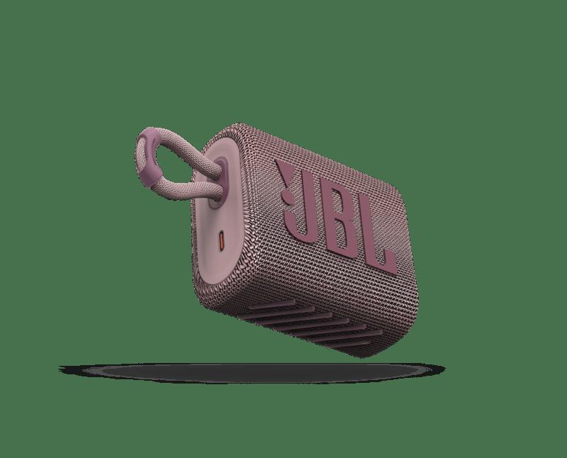 IFA 2020: Nueva gama en auriculares y altavoces JBL y Harman Kardon - jbl_go3_pink