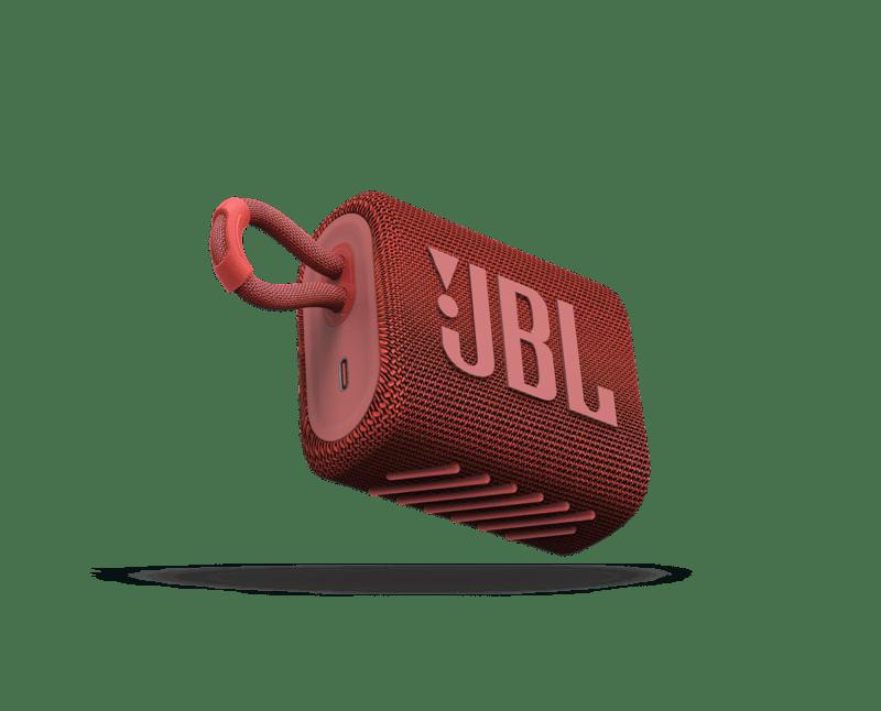 IFA 2020: Nueva gama en auriculares y altavoces JBL y Harman Kardon - jbl_go3_red
