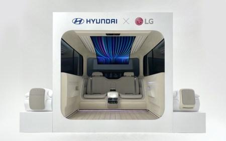 LG y Hyundai presentaron IONIQ Concept Cabin ¡conoce sus características!