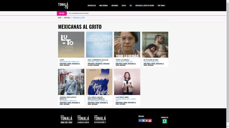 """Cine Tonalá presenta el ciclo """"Mexicanas al grito de guerra"""" - mexicanas-al-grito-de-guerra-tonala_tv-800x450"""