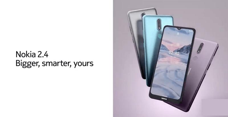 Nuevos smartphones: Nokia 3.4 y Nokia 2.4 ¡conoce sus características! - nokia-2-4-bigger-smarter-800x410