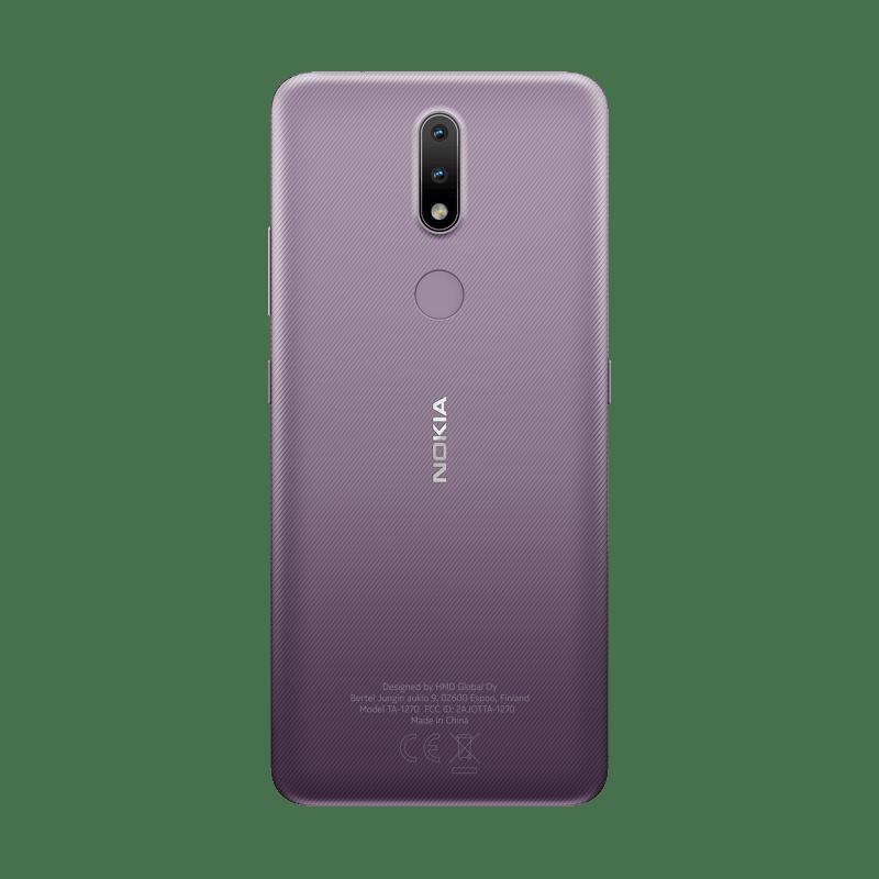 Nuevos smartphones: Nokia 3.4 y Nokia 2.4 ¡conoce sus características! - nokia_2-4_rational_dusk_back_png