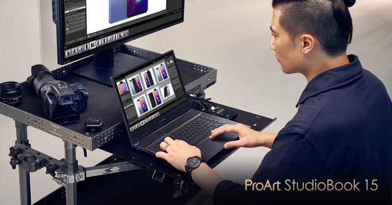 Nueva línea de laptops ASUS ProArt StudioBook para creadores de contenido - proart_studiobook_15_h500-800x419