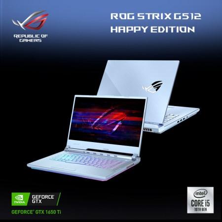 Laptop gamer ROG Strix G15 Glacier Blue HAPPY edition llega a México