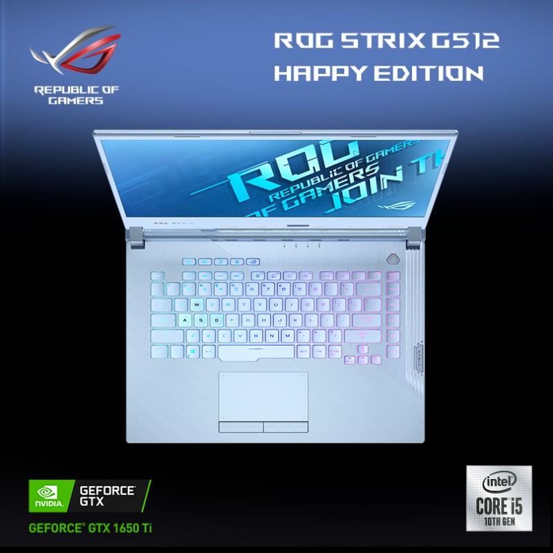 Laptop gamer ROG Strix G15 Glacier Blue HAPPY edition llega a México - rog_strix_g15_glacier_blue_happy_multilink_asus