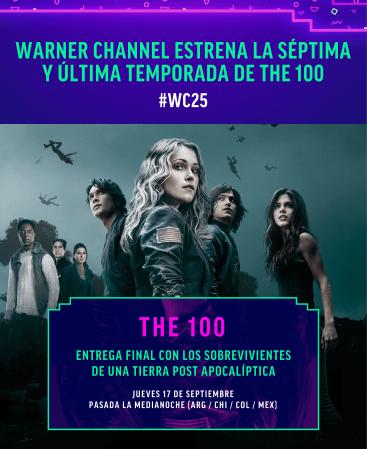Estreno de la séptima temporada de The 100 por Warner Channel