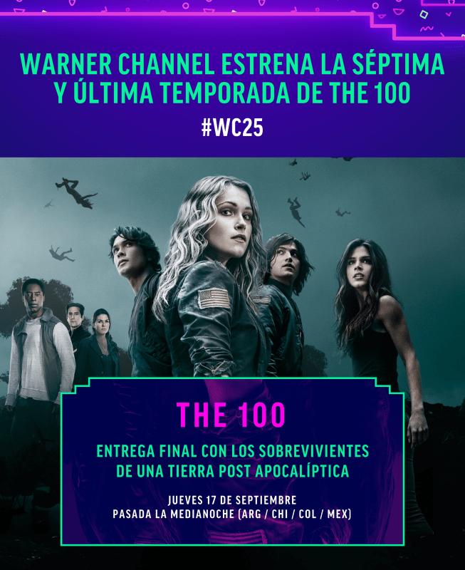 Estreno de la séptima temporada de The 100 por Warner Channel - septima_temporada-the-100-warner-653x800
