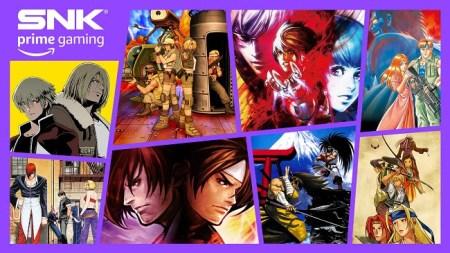 Amazon Prime ofrece gratis 8 nuevos juegos de SNK a partir de hoy