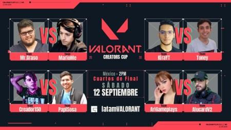 Fin de semana: VALORANT Creators Cup