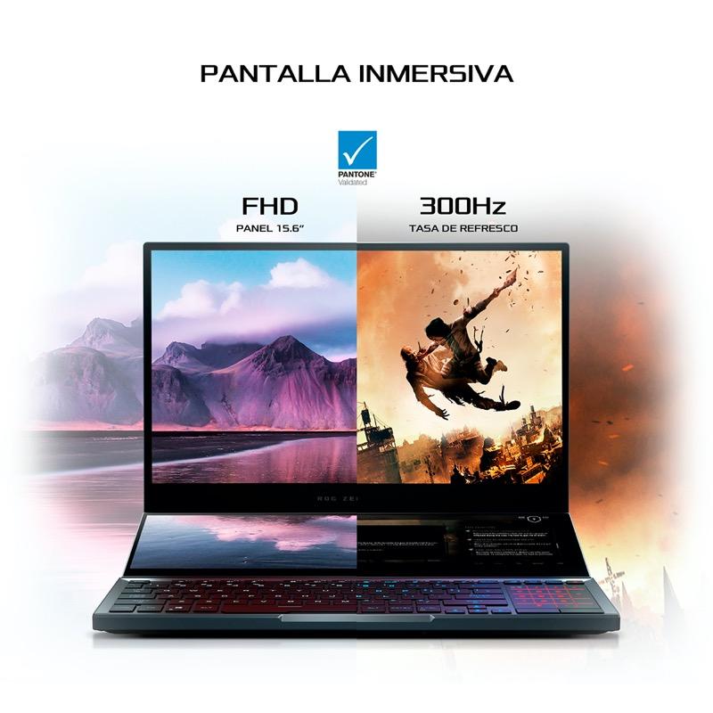 Zephyrus Duo 15, la laptop con doble pantalla para gaming llega a México - zephyrus_duo_asus_2