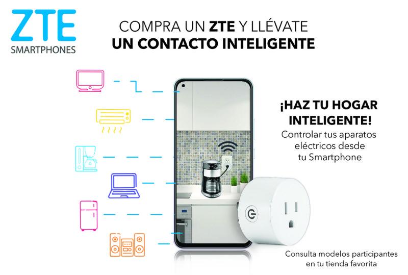 ZTE te regala un contacto inteligente para controlar tus aparatos desde tu smartphone - zte-contacto-inteligente-800x539