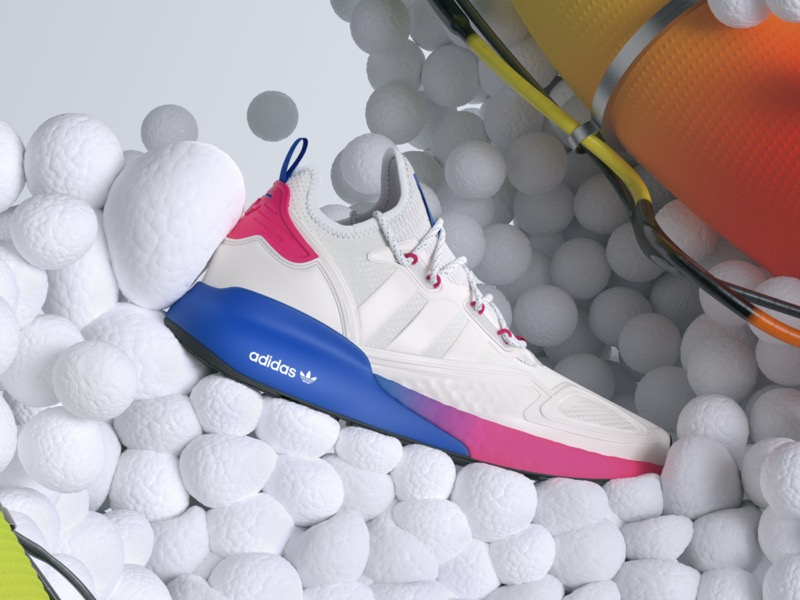 adidas lanza nuevas siluetas ZX 2K con más energía, más amortiguación, más comodidad - angle_zx_2k_adidas_originals_