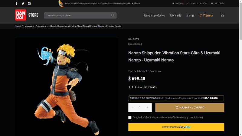 Bandai Collectors Shop: tienda en línea de Bandai México de figuras coleccionables - bandai_collectors_shop_1-800x450